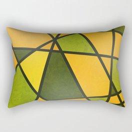 PUMPKIN COLOR MOSAIC Rectangular Pillow