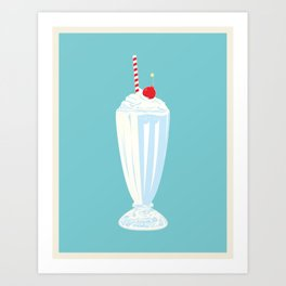 Chaos Is Delicious Art Print