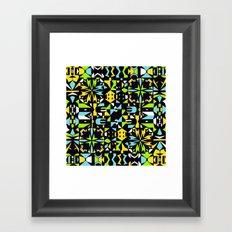 Square 3 color option 2  Framed Art Print