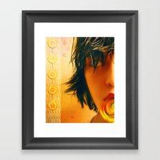 I Like Candy Framed Art Print