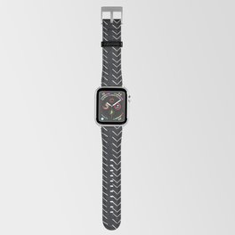Mudcloth Big Arrows in Black and White Apple Watch Band