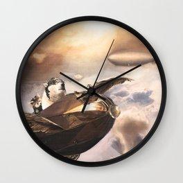 Peace Pilots Wall Clock