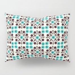 Gem Tiles Turquoise Pillow Sham