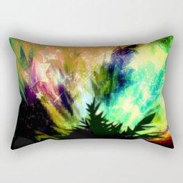 Summer night in nature. Rectangular Pillow