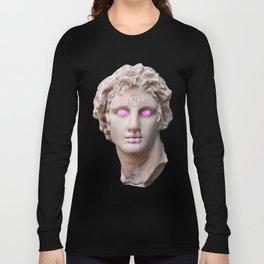Vaporwave Bust Long Sleeve T-shirt