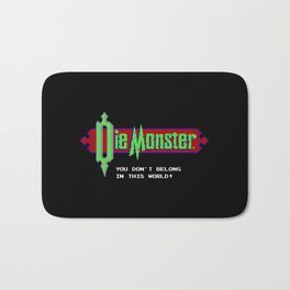 Castlevania - Die Monster. You Don't Belong In This World! Bath Mat