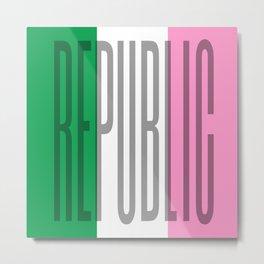 Republic of Newfoundland Metal Print
