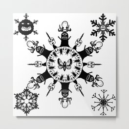 Monster Chic Metal Print