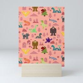 Cryptids of the PNW Mini Art Print