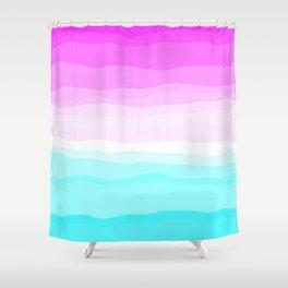Ice Cream Unicorn Rock Candy Mountain Shower Curtain