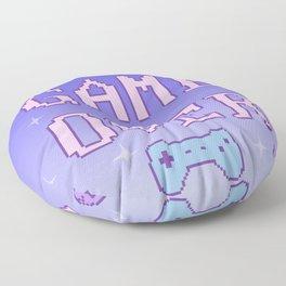Game Over (pastel) Floor Pillow