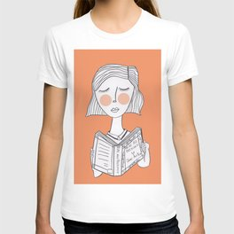 Reading Jane Austen is always a good idea. T-shirt