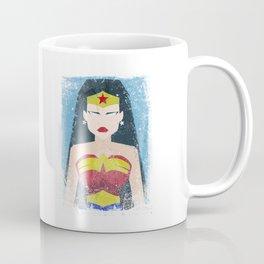 Wonder Grunge Woman Coffee Mug