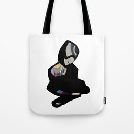 Sitting figure Tote Bag