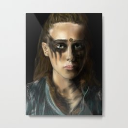 Heda Lexa Metal Print