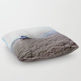 Amazon river boat Floor Pillow