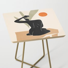 Nude Side Table