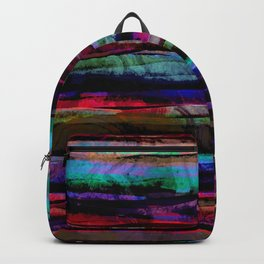 bohemian abstract painting Backpack