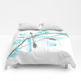 ink bow & arrows Comforters
