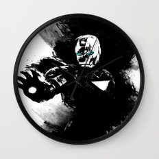 Iron Man: Shadow Edition  Wall Clock