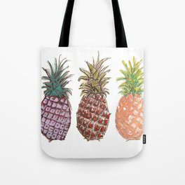 Pineapple Trio Tote Bag