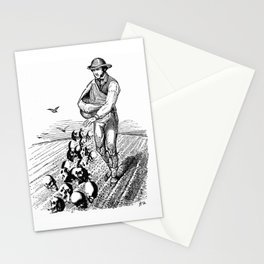 Sowing Fear Stationery Cards