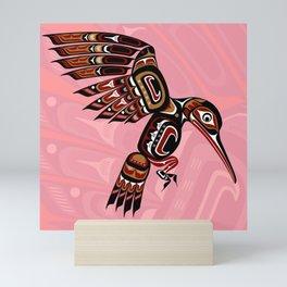 Hummingbird, Salish Seasons Mini Art Print