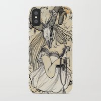 aries iPhone & iPod Cases featuring Aries by Anna Rosenfeld