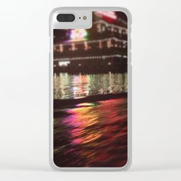 Amsterdam waters Clear iPhone Case