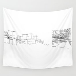 Granada-Madrid Wall Tapestry