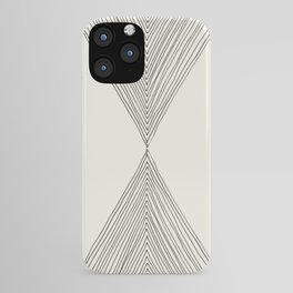 Minimalist Boho Triangles iPhone Case