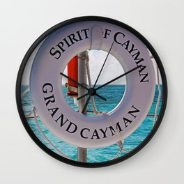 Spirit of Cayman Wall Clock
