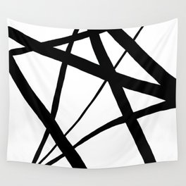 A Harmony of Lines and Shapes Wall Tapestry