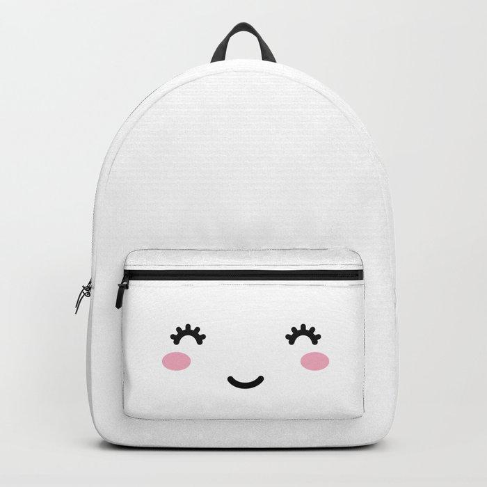 Happy Cute Face Rucksack