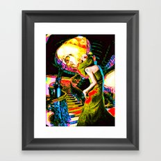 Horror Story Framed Art Print