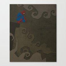 Paper Heroes - Spiderman Canvas Print