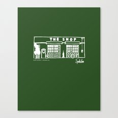 The Shop Canvas Print