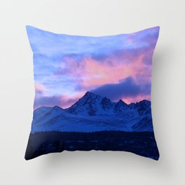 Serenity Rose Sunrise III Throw Pillow