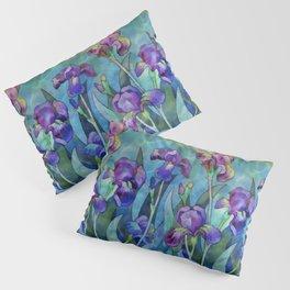 Fantasy Irises Pillow Sham