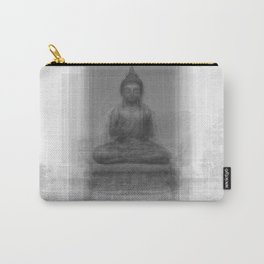 Buddha Overlay Carry-All Pouch
