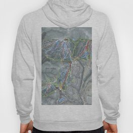 Deer Valley  Resort Trail Map Hoody