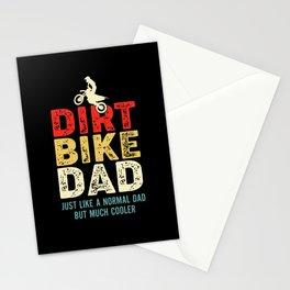 Motocross Design Dirt Bike Dad Stationery Cards