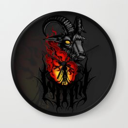 Living deliciously Wall Clock