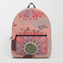 Magic coral flowers Backpack