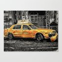 Yellow Taxi Cab by fionapaulmessenger