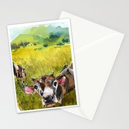 Moo! Stationery Cards