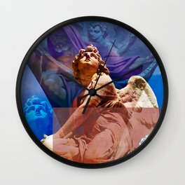 Religious Hymns of Angels Wall Clock