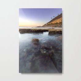 Entering the Tidepools Metal Print