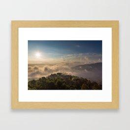 Nagarkot Framed Art Print