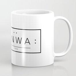 Liverpool minimal logo Black Coffee Mug